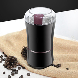 electric salt pepper spice grinder kitchen NZ - 400W Electric Coffee Grinder Mini Kitchen Salt Pepper Grinder Powerful Beans Spices Nut Seed Coffee Bean Grind Molinillo Cafe