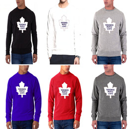 Name t shirts online shopping - New season Men s Toronto Maple Leafs Any Name Any Number Red Dassler climalite Performance Long Sleeve Raglan hockey T Shirt