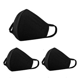 Wholesale Anti Dust Face Mouth Cover Mask Respirator Dustproof Anti bacterial Washable Reusable Comfy Masks