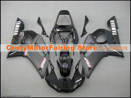 Discount matte black fairing for r6 - 3Gifts New ABS Molding motorcycle plastic Fairings Kits Fit For YAMAHA YZF-R6-600 1998-2002 98 99 00 01 02 Fairing bodyw