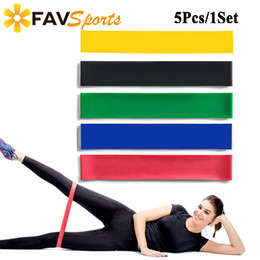 swing sets wholesalers Australia - 5Pcs Set Resistance Band Inversion Yoga Swing Gym Carry Belt Training Rubber Loops Bands Yoga Mat Strap Fitness Equipment