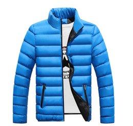 Mens Parka Leather Australia - Winter jackets mens thicken wadded leather Coat Jaqueta Masculina winter jacket men stand Collar windbreaker Parka Coats J3