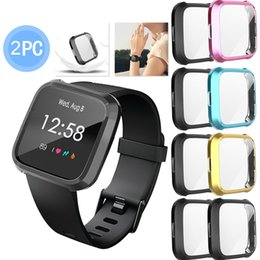 $enCountryForm.capitalKeyWord Australia - 2019 Hot2PC Protector Case Cover Soft TPU Plating For Fitbit Versa Lite Smart Watch Fashion Style DROPSHIPPING