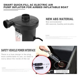 $enCountryForm.capitalKeyWord UK - Smart Quick-Fill AC Electric Air Pump Best for Airbed Inflatable Boat kids Paddling Pool & Toys Inflator and Deflator