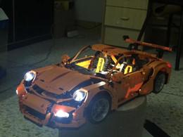 $enCountryForm.capitalKeyWord Australia - Porsche 911 GT3 RS DIY Led Light Set For Compatible IEGOset 42056 20001 Technic MOC race Car Building Blocks Toys Gifts