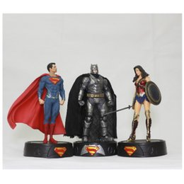 Toy boy movie online shopping - Super Hero Figure Wonder Woman Movie Figures Cm Gift For Children Boy Girl America Eco Friendly tc D1