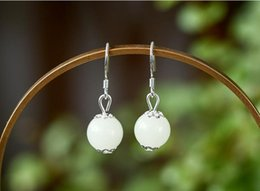 China Earrings rare luminescent stone earrings earrings online shop supply female jewelry suppliers