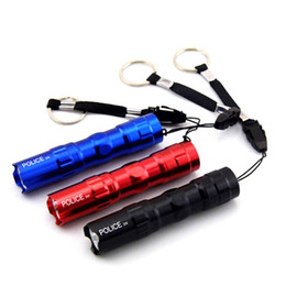 $enCountryForm.capitalKeyWord NZ - Mini high power Protable led flashlight flash flashlight light lamp waterproof AA battery bag keychain laterna for camping fishing