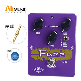 pedal fuzz Canada - Biyang FZ-12 Triple Mode Analog Fuzz Classic Series true Bypass Guitar Effect Pedal With Free Connector MU0549