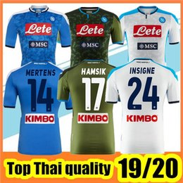 Wholesale 2019 Napoli Camiseta De Fútbol Naples home Away rd soccer jerseys Serie A Napoli football Jerseys HAMSIK L INSIGNE PLAYER Shirt
