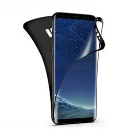 $enCountryForm.capitalKeyWord UK - Full Curved PET 3D Screen Protector Film Black Edge for Samsung Galaxy S7 Edge S8 S9 Plus Note 9