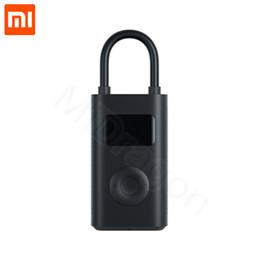 tesoro Xiaomi Mijia gonfiabile portatile Smart Digital Tire Pressure Detection gonfiatore della pompa elettrica per bici Auto Moto in Offerta