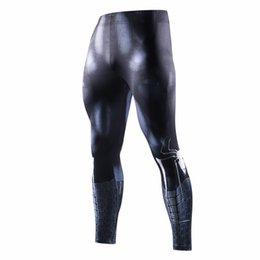 Spiderman venom superhero Hombres pantalones de compresión 3D culturismo jogger ejercicio físico leggings delgados medias pantalones pantalones # 387395 en venta