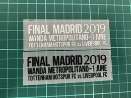$enCountryForm.capitalKeyWord NZ - FINAL Madrid 2019-June 1 Match Details Patch UCL FINAL Match Text For M.Salah MANE Firmino Kane Heat Transfer 2018 2019 Soccer Badges