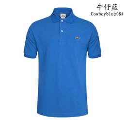 T Shirt Male Body Australia - Brand han edition cultivate one's morality short sleeve T-shirt male summer lapel body whose bead with mesh breathable shirts summer wear cl