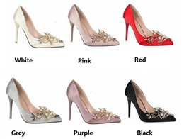 $enCountryForm.capitalKeyWord Australia - Wholesale High heels Wedding shoes, Party shoes, Women's Sandals Shoes, Sexy Lady's Dress shoes Women shoes Pointed toe size 35-40 WPS013