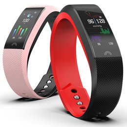 China F6 Smart Fitness Bracelet waterproof Smart Band Blood Pressure Heart Rate Monitor Electronic Clock Health Wristband PK mi band 4 supplier purple clocks suppliers