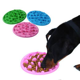 silicone dogs NZ - S L Silicone Slow Feed Dog Bowl Anti-Choking Healthy Pet Food Bowl To Prevent Obesity Dog Feeder Dish Food Bowl for Dog