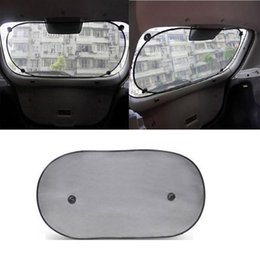 car windows sun shade NZ - Car Rear Window Sunshade Sun Shade Cover Visor Mesh Shield 1PCS Windscreen Sun Shade 100cm *49cm M28