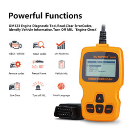 odb2 scanner Australia - OBD2 Scanner OM123 ODB2 Car Diagnostic Scanner OBD 2 Code Reader For Car Diagnostic OBDll Tool OBD Auto