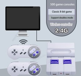 console pack NZ - New Video Games Consoles 2.4G Wireless Dual Handle TV Can Store 500 games news Classic Retro Game Consoles with packing VS PXP3 PS4 PVP SUP