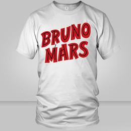 $enCountryForm.capitalKeyWord Australia - Bruno Mars t shirt Uptown Funk short sleeve tops Star singer fadeless tees Man woman white colorfast clothing Pure color modal Tshirt