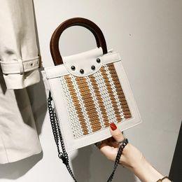 $enCountryForm.capitalKeyWord Australia - Nice Eutopean And American Fresh Fashionable Handbag, Pop Hand-knitted Handbag ,simple Holiday Beach Bag