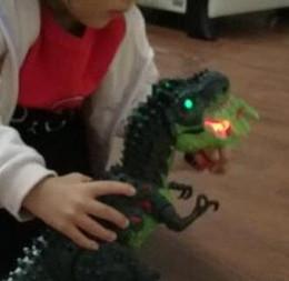 $enCountryForm.capitalKeyWord Australia - Children's dinosaur toy suit electric sound dinosaur egg-laying Tyrannosaurus walking dinosaur gift box