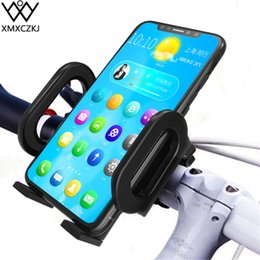 $enCountryForm.capitalKeyWord Australia - Xmxczkj Bicycle Mobile Handlebar Clip Mount Stand For Bike Motorcycle Support Cell Phone Smartphone Gps Holder J190507