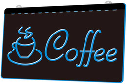 Coffee Cup Cafe online shopping - LS1116 b Coffee Cup Shop Cappuccino Cafe Neon Light Sign jpg Decor Dropshipping colors to choose