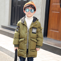 $enCountryForm.capitalKeyWord Australia - Winter Children Jacket&Coat For Boys Fashion Hooded Outwear Kids thick Coat Padded-Cotton Boy Clothes Outwears SJ-004