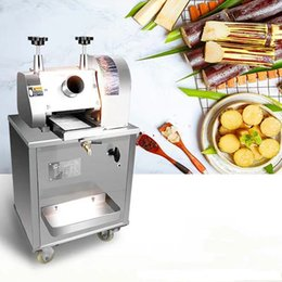 caning machine NZ - hot Multi-purpose commercial sugarcane juice machine Sugar cane juice extractor squeezer Stainless steel sugarcane Juicer 220V