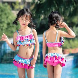 7e3922b4982f2 Swimsuit For Girls Kids 2019 Girl Swimming Suit Bathing Suits Child  Swimwear Children Split Baby Skirt Princess Animal Polyester