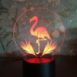 New strange 3D night light touch colorful creative gifts birthday gift personality LED table lamp