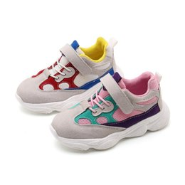 a646beaa7b36 Kids Sport Shoes For Boys Girl Children Casual Sneakers Baby Girl Air Mesh  Breathable Soft Running Sports Shoe Pink Green EUR26-35