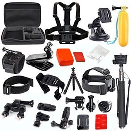 Gopro kits online shopping - Details about Sports Action Camera Accessories Carrying Case Kit for GoPro Xiaomi Yi k Cam