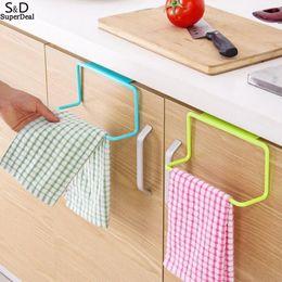 $enCountryForm.capitalKeyWord Australia - organizer Towel Cabinet Kitchen Towel White Green Kitchen door Rack Rack Pink Suspension Door Rack Bathroom Blue