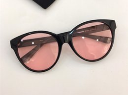 Discount small cat eye sunglasses Hot sell Brand Designer Sunglasses 0419S Cat Eye Frame Glasses Legs With Small Diamond Design Top Quality Eyewear UV400