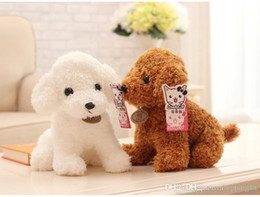 hot doll dogs NZ - Good T482 HOT Plush dog Plush Doll Toys Cute Teddy dogs Stuffed Toys Poodle Stuffed Animals Doll Children Kids Gift
