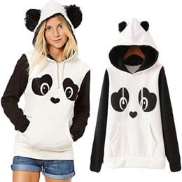 $enCountryForm.capitalKeyWord NZ - New College Wind Women Hoodies Fashion Cartoon Panda Sweatshirts Casual Printed Mixed Color Harajuku Tracksuits Female Sudaderas