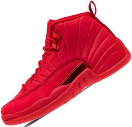 d6917143afc3 Winterize 12 Gym Red 12s College Navy mens basketball shoes Michigan WINGS  bulls Flu Game the master Jumpman taxi Sports trainer sneakers