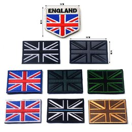 britain flags Australia - United Kingdom National Flag Embroidery Patch England Scotland Wales Flag badges for Tactical Union Britain British clothes