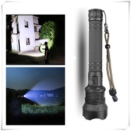 Zoomable focus flashlight torch online shopping - Hiking And Camping Flashlights Torches XHP70 High Powerful Zoomable Focus LED Flashlight Torch Light Without Battery
