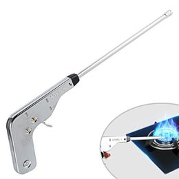 electronic bbq lighters NZ - Lighter Fire Starter Electronic Fire Ignitor Cooker Ignition Gas Camping BBQ For Kitchen Fireplace Cuisine Cooking tool