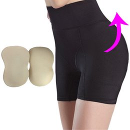 b5ceac30921 Women Butt Lifter Panties Padded Panty High Waist Panties Fake Butt Shaper  Bum Push Up Buttocks Enhancer Removable Pads Padding Underwear
