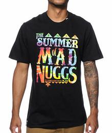 a73f9c86f Black Shirt White Tie Men NZ - Lrg Men's Summer Of Mad Nuggs Tie Dye print