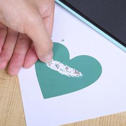 Опт Новый дизайн Творческий подарок сообщение наклейка скретч наклейки покрывающие царапина фильм скретч наклейка Wedding Party подарок