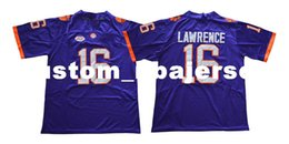 $enCountryForm.capitalKeyWord Canada - Cheap custom NEW Trevor Lawrence Jersey #16 Clemson Tigers Jersey Football jersey Stitched Customize any number name MEN WOMEN YOUTH XS-5XL