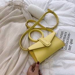 yellow hand bags Australia - New Envelope Bag Personalized Hand Bag Ladder Shoulder Messenger Fashionable Wild Temperament