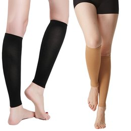 6af3885349 1Pair Miracle Antifatigue Compression Stockings Unisex Prevent Varicose  Veins Knee Socks Pantyhose Supports Leg Stocking